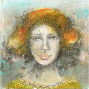 Marta Susek akryl na płycie 25x25cm