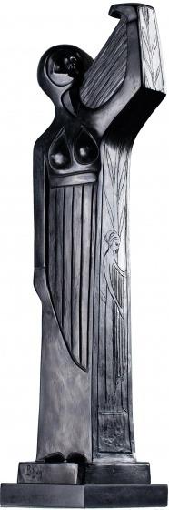 Bolesław Biegas, RÉFLEXION DE LA CRÉATION (DOUBLE FACE), 1912