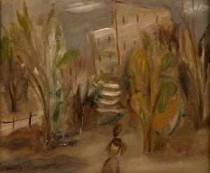 Leon Weissberg, Pejzaż leśny, ok. 1928