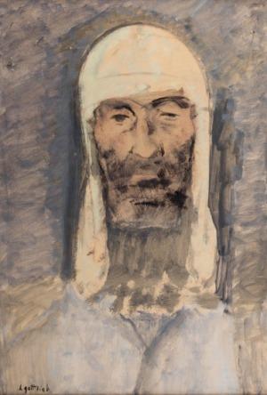 Leopold Gottlieb, Portret mężczyzny