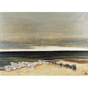 Jerzy KRAWCZYK (1921-1969), Morze