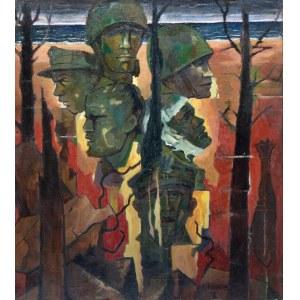 EUGENIUSZ WANIEK (1906-2009), Obrońcy Westerplatte, 1967-1976