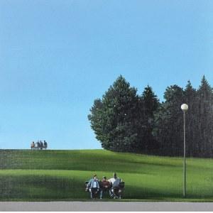 MAGDALENA LASKOWSKA (UR. 1985), Pole Mokotowskie - Ławeczki, 2019
