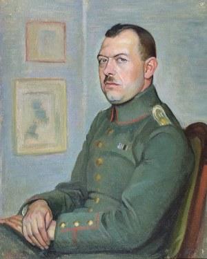 Henryk BERLEWI (1894-1967), Portret oficera, 1918