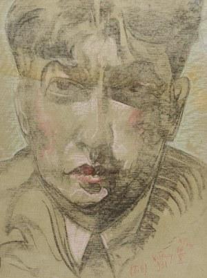 Stanisław Ignacy WITKIEWICZ - WITKACY (1885-1939), Portret mężczyzny