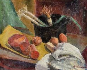 Abraham WEINBAUM (1890-1943), Martwa natura z warzywami