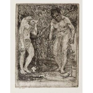 Konstanty BRANDEL (1880-1970), Les Vieillards - Starcy, metamorfoza, 1913