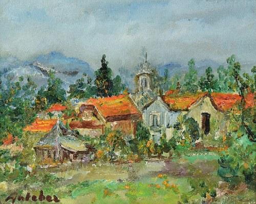 Isaac ANTCHER (1899-1992), Pejzaż
