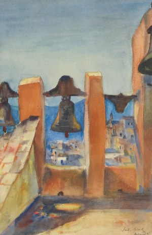 Teodor GROTT (1884-1972), Monreale (Sycylia), 1913