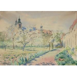 Franciszek TUREK (1882-1947), Kościół na Skałce w Krakowie, ok. 1930