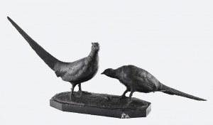 Otto POERTZEL (1876-1963), Para bażantów