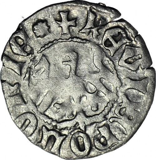 R-, Władysław Jagiełło, Półgrosz bez znaku,typ XI, 1408r.