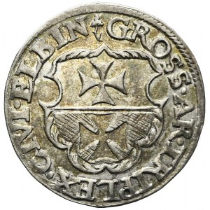 Zygmunt I Stary, Trojak 1539, Elbląg, piękny