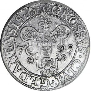 Stefan Batory, Grosz 1579, Gdańsk
