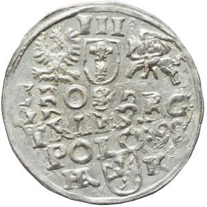 Zygmunt III Waza, Trojak 1598, Wschowa, destrukt