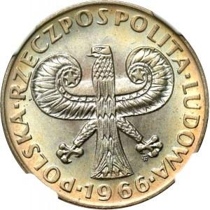 10 Złotych 1966, Mała kolumna