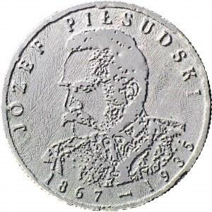 RR-, Polska Rzeczypospolita Solidarna, 150 złotych 1985, Józef Piłsudski