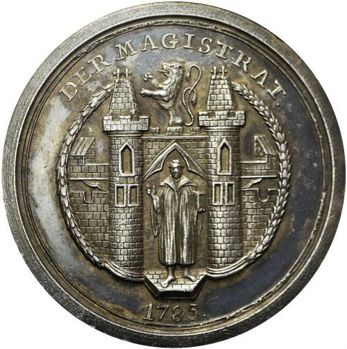 Niemcy, Miasto Monachium, Medal nagrodowy 1785, bardzo ładny