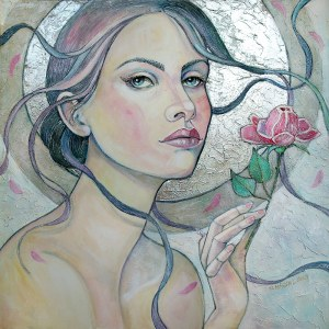 Joanna Misztal, Zimowa róża, 2019