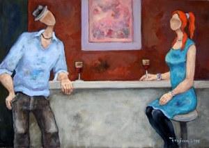 Henryk Trojan, Bar z różową abstrakcją 2019