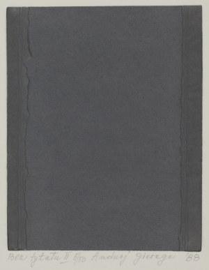 Andrzej Gieraga, BEZ TYTUŁU II, 5/50, '88