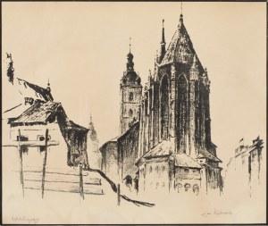 Jan RUBCZAK (1884 - 1934), Kościół Mariacki w Krakowie, 1934 r.
