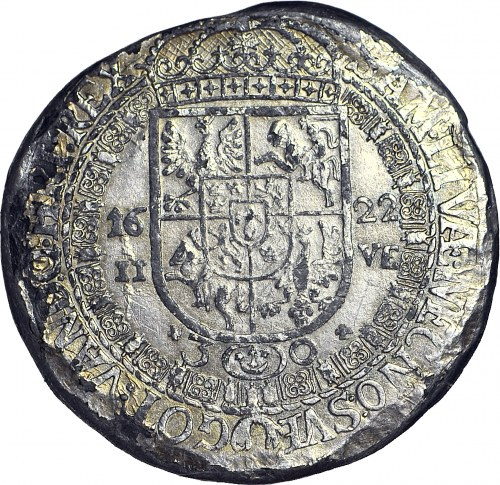 RR-, Zygmunt III Waza, Talar lekki 1622 II-VE R7, falsyfikat z epoki?