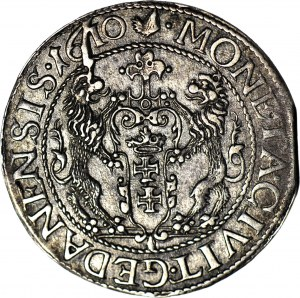 RR-, Zygmunt III Waza, Ort 1610, Gdańsk, NAJRZADSZY ROCZNIK