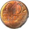1 grosz 1923, menniczy, JEDYNE 66 W RD