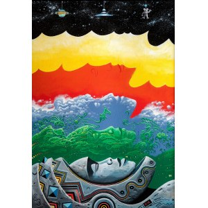 Waldemar Borowski (ur. 1979), Space Erased, 2016