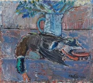Helena ZAREMBA-CYBISOWA (1911-1986), Martwa natura