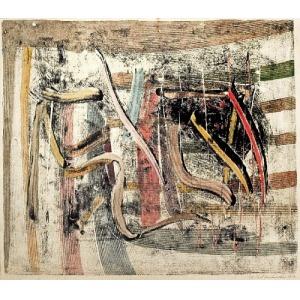 Czesław SADOWSKI (1902-1959), Kompozycja abstrakcyjna I, 1958