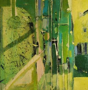 Marek BATORSKI (ur. 1967), Blue in green, 2012