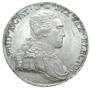 Saksonia, Fryderyk August III, talar 1805 SGH, Drezno