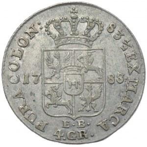 Stanisław August Poniatowski, złotówka 1788/7 EB, Warszawa