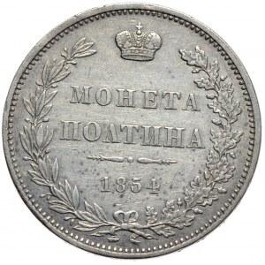 Zabór rosyjski, Mikołaj I, połtina 1854 MW, Warszawa