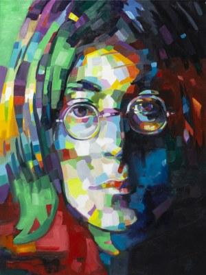 Monika Łakomska, Lennon Abstract, 2019