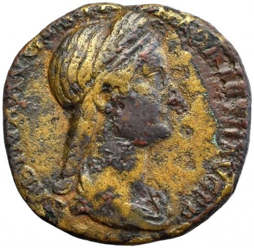 Roman Empire, Sabina, Sestertius Concordia