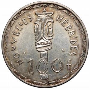 Vanuatu, 100 francs 1966