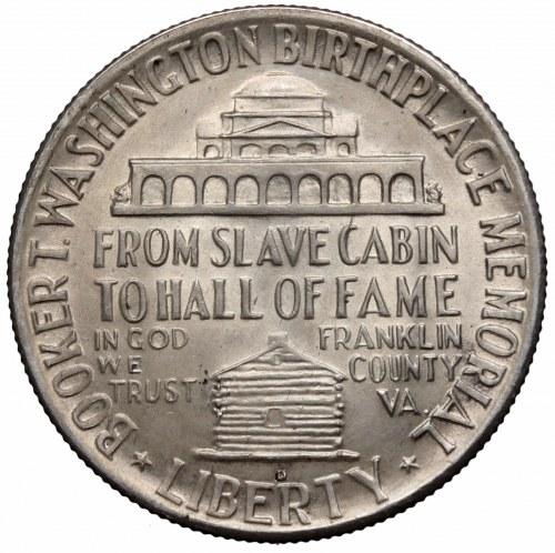 USA, Half dollar 1946 D Booker T. Washington