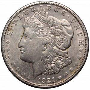 USA, 1 dollar 1921 S Morgan dollar
