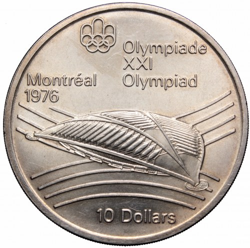 Canada, 10 dollars 1976 Olympic games