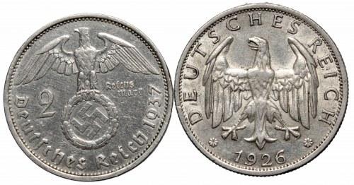 Germany, lot 2 mark 1926-1937