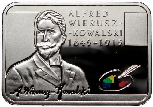 III RP, 20 złotych 2015 Polscy Malarze XIX/XX w. Alfred Wierusz-Kowalski
