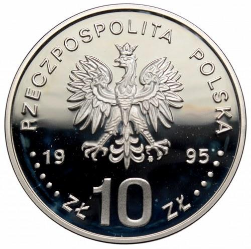 III RP, 10 złotych 1995 Atlanta