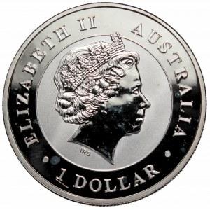 Australia, 1 dollar 2016 Wedge-tailed Eagle