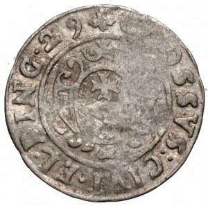 Szwedzka okupacja Elbląga, Gustaw II Adolf, Grosz 1629