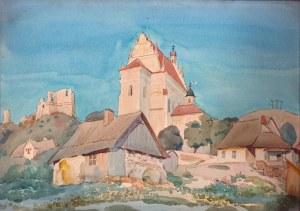 Władysław Skoczylas (1883 Wieliczka – 1934 Warszawa), Widok z Kazimierza nad Wisłą