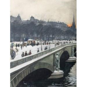 Odo Dobrowolski (1883 Czerniowice – 1917 Kijów), Paryski most (Pont de l'Alma), ok. 1910 r.