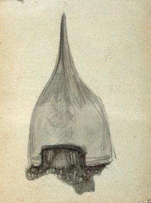 Jan Stanisławski (1860 Olszana/Ukraina - 1907 Kraków), Hełm (praca dwustronna)